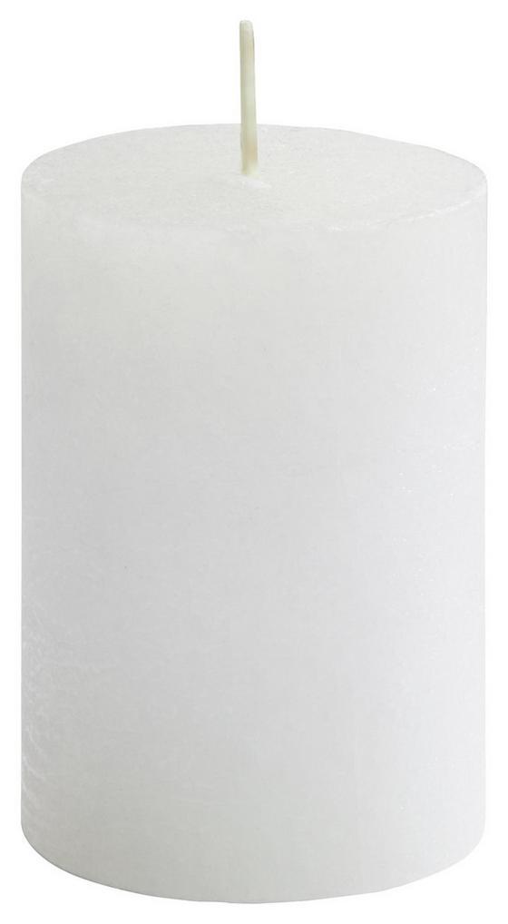 Stumpenkerze Ivonn - Creme, KONVENTIONELL (7/10cm) - Ombra