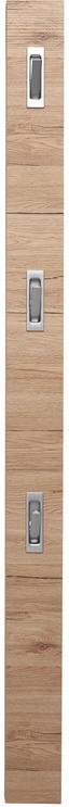 Šatní Lišta Enzo - barvy olše/světle hnědá, Moderní, kompozitní dřevo (12/175/2,8cm)