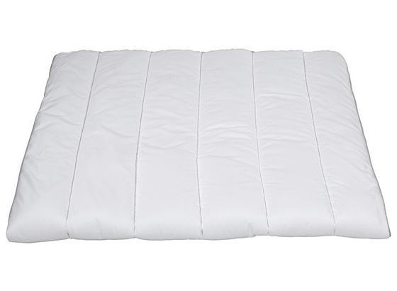 Steppdecke Sanitized 140x200 cm - Weiß, KONVENTIONELL, Textil (140/200cm) - Primatex