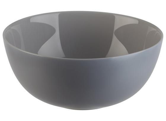 Mísa Na Salát Alexis - šedá, Romantický / Rustikální, sklo (21/9,3cm) - Mömax modern living