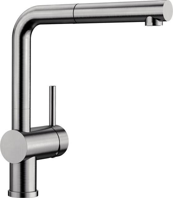 Spültischarmatur Blanco - Edelstahlfarben, Metall (28,4cm)