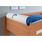 Nackenrolle Blau/Weiß - Blau/Weiß, Design, Textil (80/16/16cm)