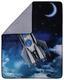 Kuscheldecke Rakete - Blau, Textil (130/160cm)
