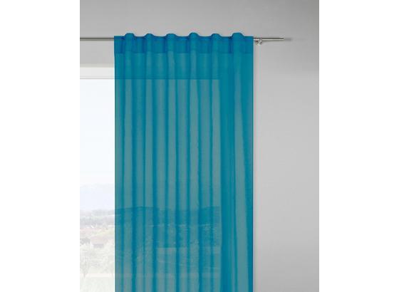 Záves Tosca 2 Ks 300cm - petrolejová, textil (140/300cm) - Mömax modern living