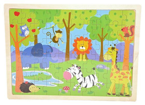 Puzzle für Kinder - Multicolor, KONVENTIONELL, Karton (29,5/22/0,5cm)