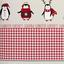 Bettwäsche Winter Pinguin - Rot/Weiß, KONVENTIONELL, Textil - Luca Bessoni