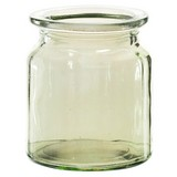 Dekoglas H: 9 cm - Grün, MODERN, Glas (7,5/9cm)