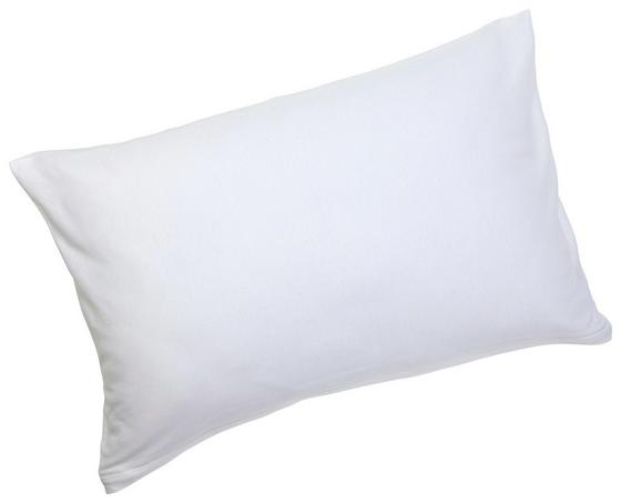 Kissenhülle Antoinette - Weiß, KONVENTIONELL, Textil (40/60cm) - Ombra