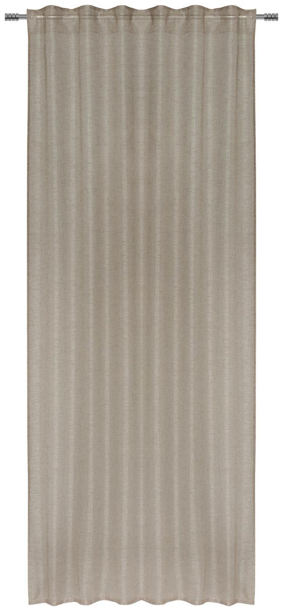 Záves Elena - sivohnedá, textil (140/255cm) - Mömax modern living
