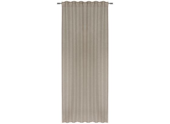 Záves Elena - taupe, textil (140/255cm) - Mömax modern living
