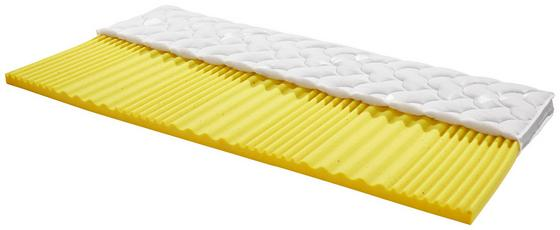 Topper Yoga-drops H2 160x200 - Weiß, Textil (160/200cm) - Primatex