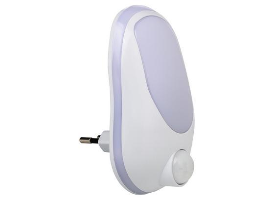 LED-Nachtlicht B/H/T: ca. 6,5x12x7,5cm - Weiß, MODERN, Kunststoff (6,5/12/7,5cm)