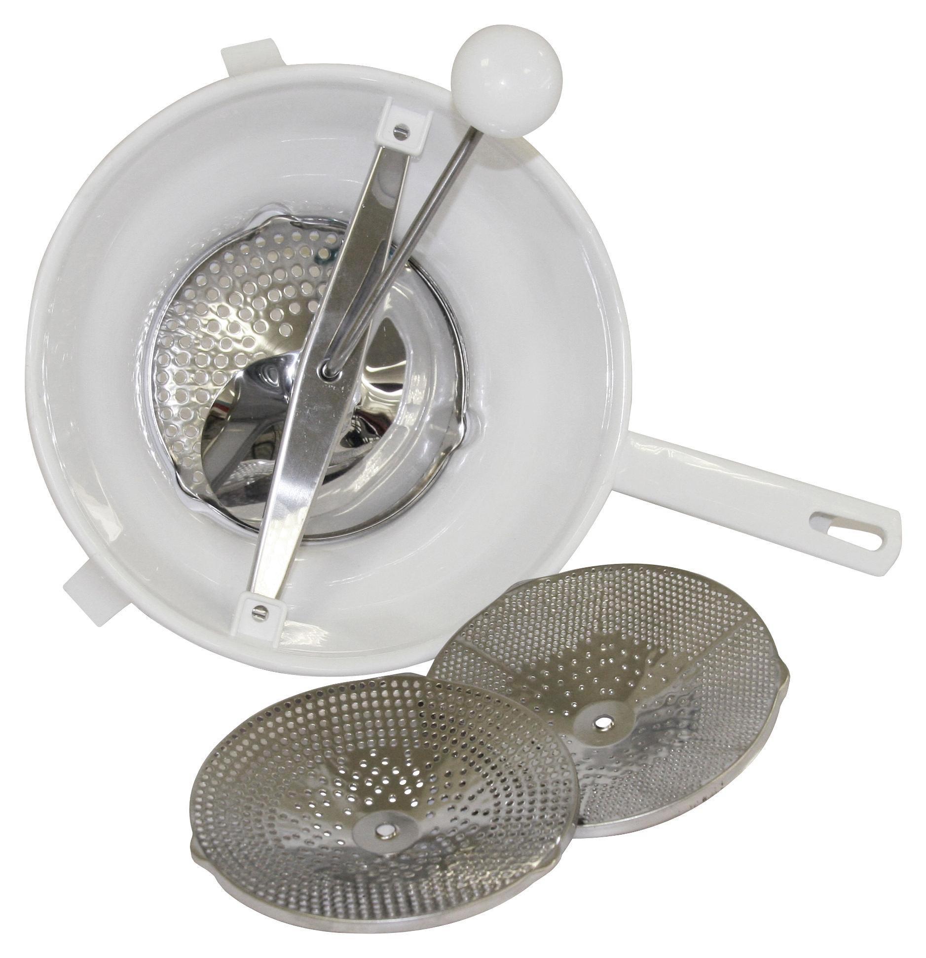 Passiergerät Ø 24 cm - Weiß, MODERN, Kunststoff (36/26/18cm)