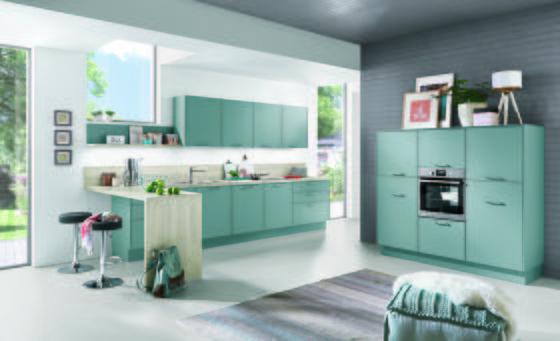 Kuchyně Na Míru Toledo - bílá/černá, Moderní, dřevěný materiál - Vertico