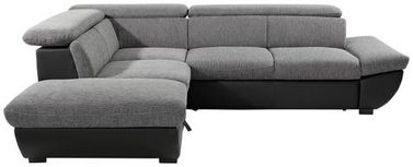 Sedací Souprava Chance - šedá/černá, Moderní, textil (228/270cm)