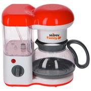 Kinder-kaffeemaschine Eddy Toys - Rot/Weiß, Kunststoff (19/12/19cm)