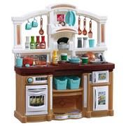 Kinderküche Spass mit Freunden - Beige/Braun, Basics, Kunststoff (90,8/103,8/31,8cm)