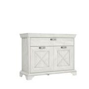 Kommode Kashmir B: 123 cm - Weiß/Pinienfarben, Basics, Holzwerkstoff/Kunststoff (123,3/95,9/48,2cm) - MID.YOU
