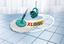 Bodenreinigungsset Combi Disc Mop - Silberfarben/Weiß, MODERN, Kunststoff/Textil - Leifheit