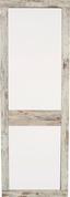 Szekrény Malta - Tölgyfa/Fehér, modern, Faalapú anyag/Üveg (63,9/196,6/34,9cm)