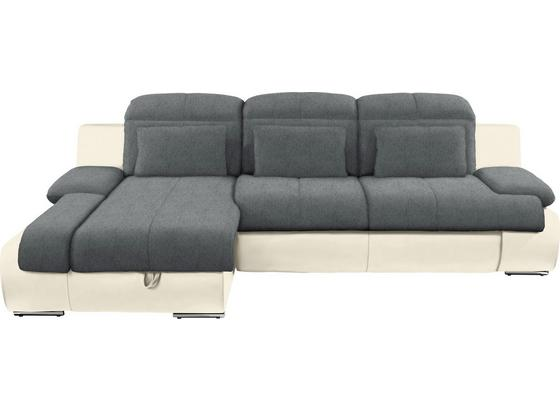 Sedacia Súprava Multi - sivá/krémová, Moderný, textil (184/260cm)