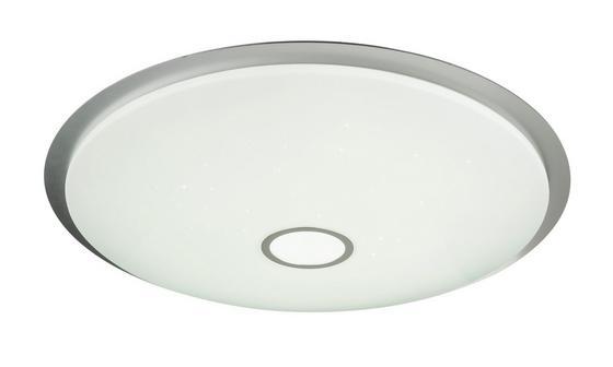 LED-Deckenleuchte Ø 86 cm - Klar/Weiß, Basics, Kunststoff/Metall (86/10.5cm)