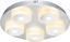 LED-Deckenleuchte Quadralla - Chromfarben, MODERN, Kunststoff/Metall (27/4cm)