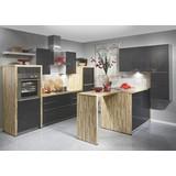 Kuchyně Na Míru Fargo - bílá/barvy stříbra, Moderní, kompozitní dřevo