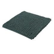Badteppich Celine, 60x60cm - Dunkelgrün, Basics, Textil (60/60/4cm) - Kleine Wolke