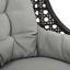 Relaxačné Kreslo Timi - světle šedá/tmavě šedá, Moderní, kov/textil (76/146/77cm) - Modern Living