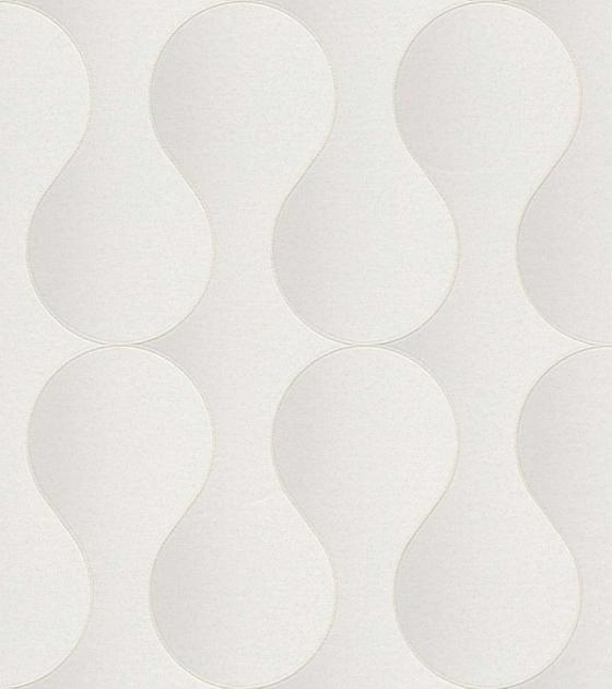 Tapeta 6720600 Art&nature - bílá/šedá, Moderní (53/1005cm)