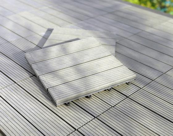 Obklad Na Terasy Willi - sivá, umelá hmota (30/2,2/30cm) - MÖMAX modern living