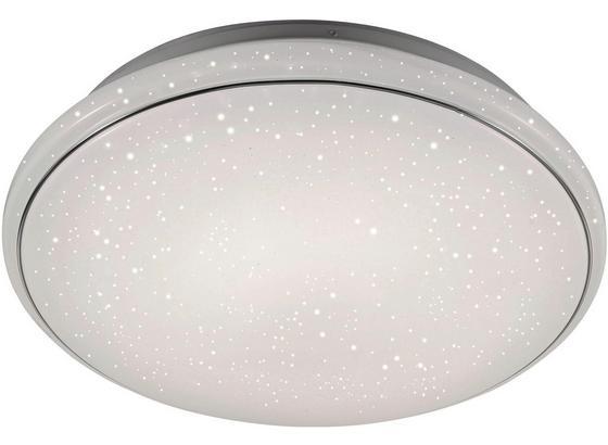 Led Stropná Lampa Jupiter Ø 59cm, 40 Watt - biela, Moderný, kov/plast (59/11,5cm) - Mömax modern living