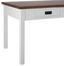 Jedálenský Stôl Melanie - borovicová/biela, Moderný, drevo (150/80/80cm) - Mömax modern living