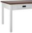 Jídelní Stůl Melanie - barvy borovice/bílá, Moderní, dřevo (150/80/80cm) - Mömax modern living