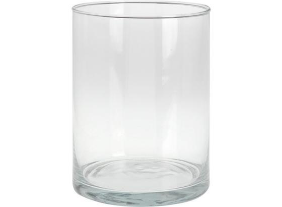 Vase Aisyln - Klar, Basics, Glas (15/20cm)
