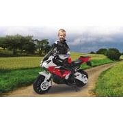 Kindermotorrad Ride-On Bmw S1000rr Rot - Rot/Schwarz, Basics, Kunststoff (109/48/63cm)