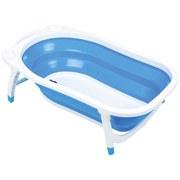 Babybadewanne Dori Cc6600-11 - Blau/Weiß, MODERN, Kunststoff (78/45/23cm) - Fillikid