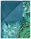 Kuscheldecke Talisa - Blau/Multicolor, Textil (130/160cm)
