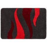 Badteppich Fury 60x90cm - Rot, MODERN, Kunststoff (60/90cm) - Kleine Wolke