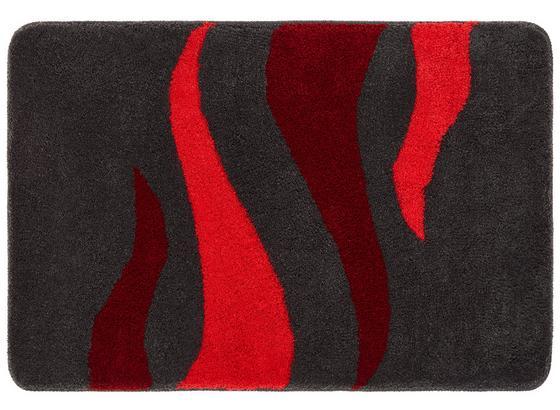 Badteppich Fury, 70x120cm - Rot, MODERN, Kunststoff (70/120cm)