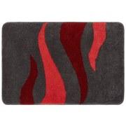 Badteppich Fury, 50x60cm - Rot, MODERN, Textil (50/60cm)