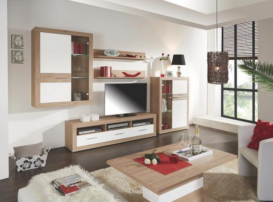 Wohnzimmerprogramm in Eiche Dekor