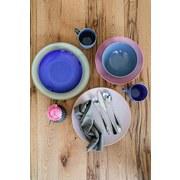 Tafelservice Ossia 12-Tlg - Rosa, Basics, Keramik