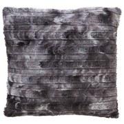 Fellkissen Linessa 45x45 cm - Grau, KONVENTIONELL, Textil (45/45cm) - Ombra