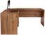 Eckschreibtisch 4-You - Eichefarben, MODERN, Holzwerkstoff (174/78/139cm)