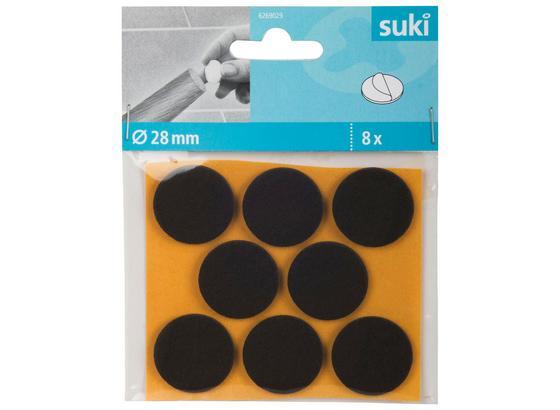 Filzgleiter 6269029 - Dunkelbraun, Kunststoff (2,8cm) - Suki