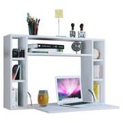 Laptoptisch Wandila B: 90 cm Weiß - Weiß, KONVENTIONELL, Holzwerkstoff (90/20/60cm) - MID.YOU