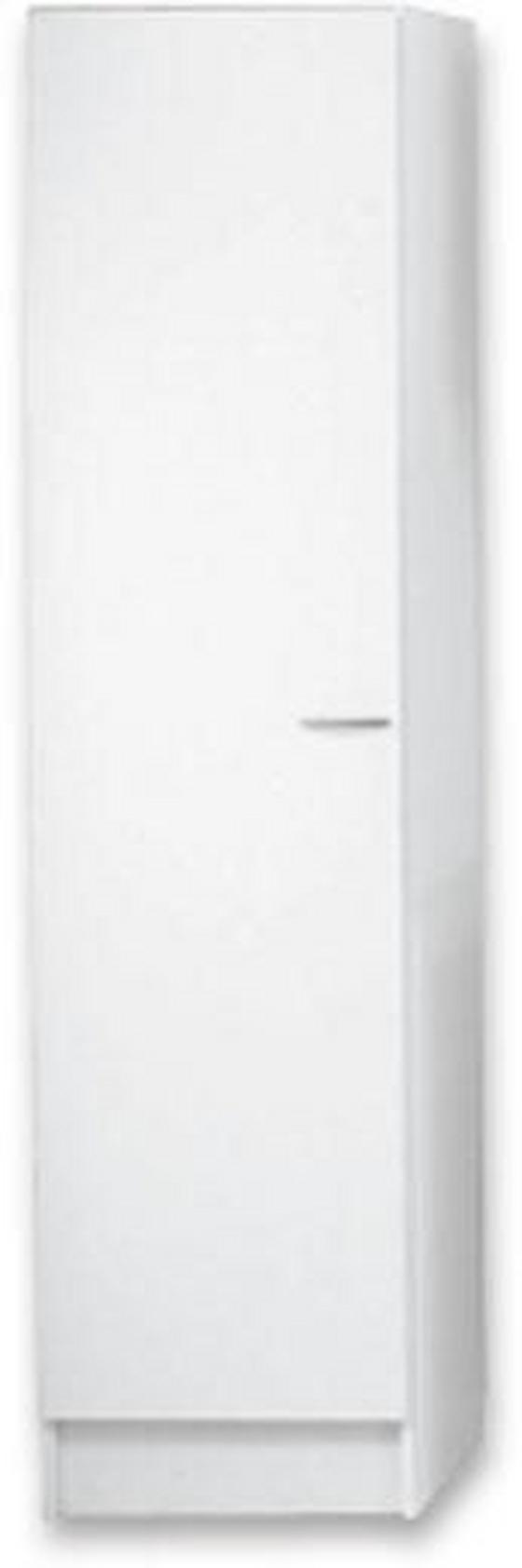 Geschirrschrank Speed 50 cm - Weiß, MODERN, Holzwerkstoff (50/200/47cm)