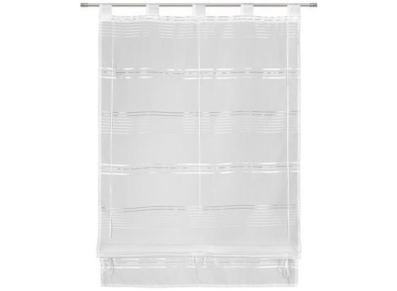 Provázková Roleta Louis, 80/140cm, Bílá - bílá, Konvenční, textil (80/140cm) - Mömax modern living